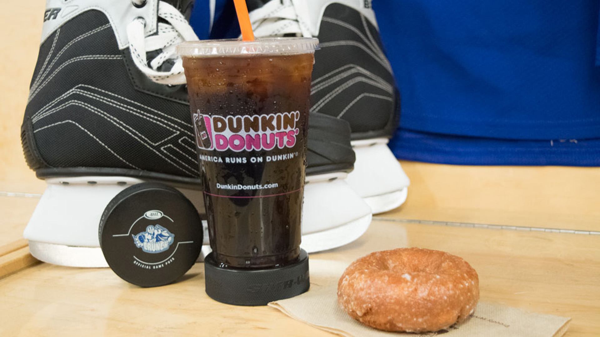 Syracuse Crunch and Dunkin' Donuts Continue Munchkins Hosting
