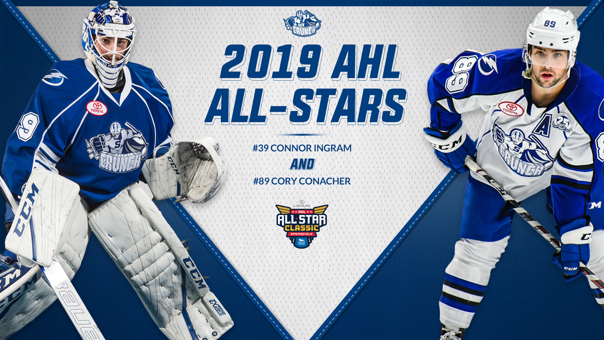Cory Conacher And Connor Ingram Named 2019 Ahl All Stars Images, Photos, Reviews